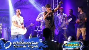 Foto Quintal da Clube com Turma do Pagode 66