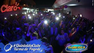 Foto Quintal da Clube com Turma do Pagode 68
