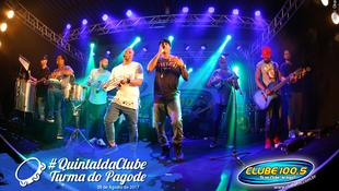 Foto Quintal da Clube com Turma do Pagode 69