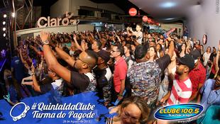 Foto Quintal da Clube com Turma do Pagode 73