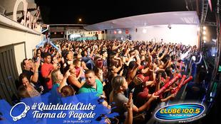 Foto Quintal da Clube com Turma do Pagode 74