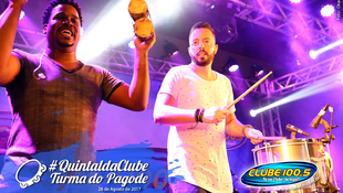 Foto Quintal da Clube com Turma do Pagode 77