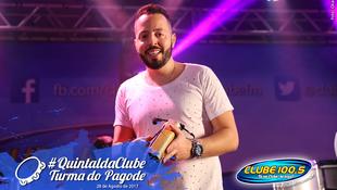 Foto Quintal da Clube com Turma do Pagode 80