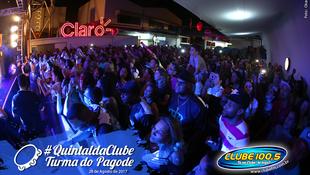 Foto Quintal da Clube com Turma do Pagode 86