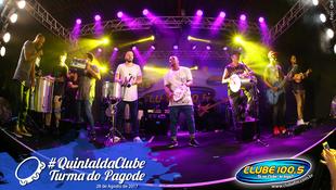 Foto Quintal da Clube com Turma do Pagode 89