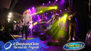 Foto Quintal da Clube com Turma do Pagode 90