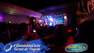 Foto Quintal da Clube com Turma do Pagode 92
