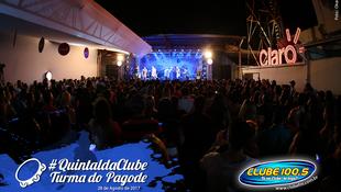 Foto Quintal da Clube com Turma do Pagode 93