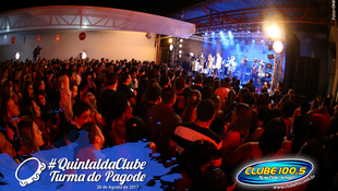 Foto Quintal da Clube com Turma do Pagode 95