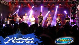 Foto Quintal da Clube com Turma do Pagode 102