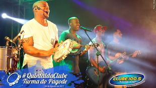 Foto Quintal da Clube com Turma do Pagode 105