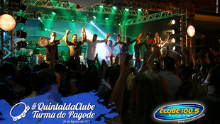 Foto Quintal da Clube com Turma do Pagode 123