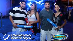 Foto Quintal da Clube com Turma do Pagode 129