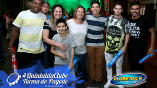 Foto Quintal da Clube com Turma do Pagode 132