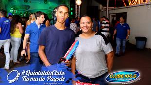 Foto Quintal da Clube com Turma do Pagode 138