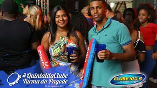 Foto Quintal da Clube com Turma do Pagode 143