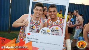 Foto Fotos da galera no #SafadãoElétrico 59