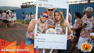 Foto Fotos da galera no #SafadãoElétrico 107