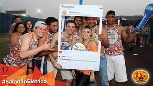 Foto Fotos da galera no #SafadãoElétrico 169
