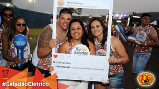 Foto Fotos da galera no #SafadãoElétrico 173