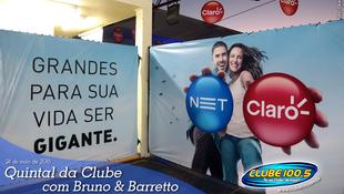 Foto Quintal da Clube com Bruno & Barretto 1