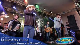 Foto Quintal da Clube com Bruno & Barretto 50