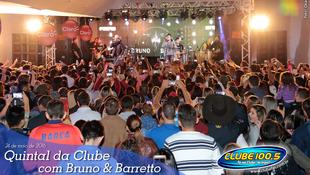 Foto Quintal da Clube com Bruno & Barretto 51