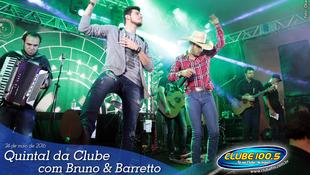 Foto Quintal da Clube com Bruno & Barretto 70