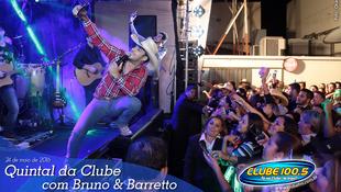 Foto Quintal da Clube com Bruno & Barretto 82