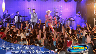 Foto Quintal da Clube com Bruno & Barretto 85
