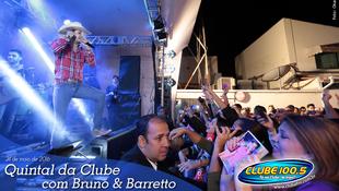 Foto Quintal da Clube com Bruno & Barretto 88