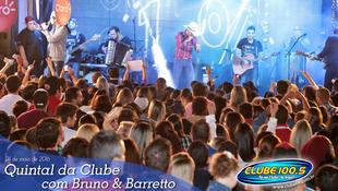 Foto Quintal da Clube com Bruno & Barretto 91