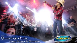 Foto Quintal da Clube com Bruno & Barretto 94