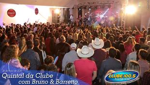 Foto Quintal da Clube com Bruno & Barretto 100