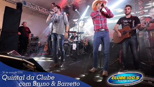 Foto Quintal da Clube com Bruno & Barretto 103