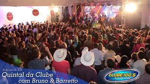 Foto Quintal da Clube com Bruno & Barretto 115