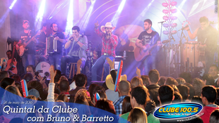 Foto Quintal da Clube com Bruno & Barretto 120