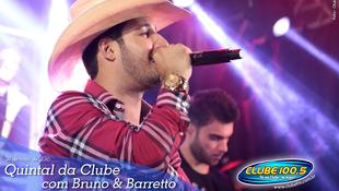 Foto Quintal da Clube com Bruno & Barretto 123