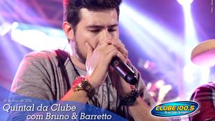 Foto Quintal da Clube com Bruno & Barretto 124