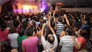 Foto Quintal da Clube com Leonardo 77