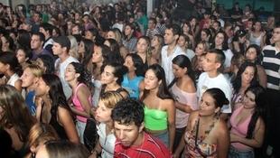 Foto Quintal da Clube com Inimigos da HP 45