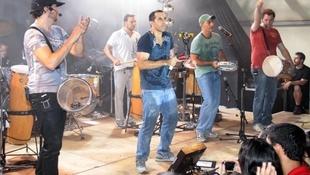Foto Quintal da Clube com Inimigos da HP 54