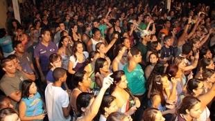 Foto Quintal da Clube com Inimigos da HP 67