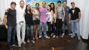 Foto Quintal da Clube com Inimigos da HP 80