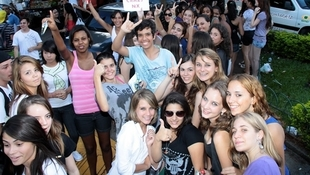 Foto Quintal da Clube com Nx Zero 3