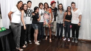 Foto Quintal da Clube com Nx Zero 10