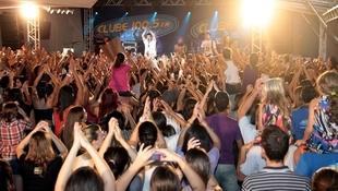 Foto Quintal da Clube com Nx Zero 19