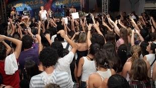 Foto Quintal da Clube com Nx Zero 34
