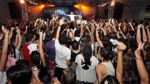 Foto Quintal da Clube com Nx Zero 40