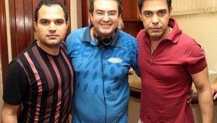 Foto Quintal da Clube com Zezé Di  Camargo & Luciano 1